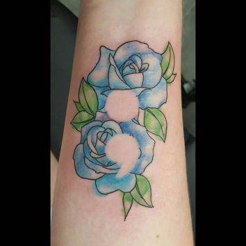 semicolon-rose